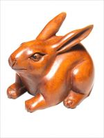 Netsuke rabbit