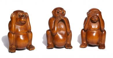 The 3 wise monkeys