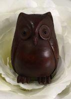 Netsuke owl